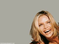 """""""I have days when I just feel I look like a dog."""" Michelle Pfeiffer"""