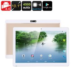 Android Tablet PC - 3G, 10.1 Inch IPS Display, Dual IMEI, Bluetooth, Android OS, Google Play, OTG, Quad-Core CPU, 4500mAh - This cheap Android tablet PC features two IMEI numbers and 3G network support - bringing along great on-the-go connectivity and entertainment possibilities.