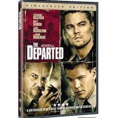 The departed Martin Scorsese, Mark Wahlberg, Jack Nicholson, Matt Damon Movies, His Double Life, Leonardo Dicaprio Movies, Boss One, Nolan Film, Frank Costello