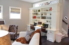 built-in shared office