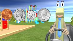 Children will learn to count money in this Fun Math Video. 1st and 2nd Graders will learn the values of each of the coins and how to count money. We also hav...