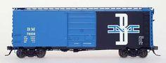 Intermountain HO RTR 40' PS-1 Boxcar Boston & Maine RR IOB