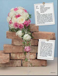 Blumenstrauß Weddingstyle