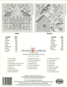 ru / Фото - The Prairie Schooler - didu Cross Stitch Love, Cross Stitch Samplers, Cross Stitch Animals, Counted Cross Stitch Patterns, Cross Stitch Charts, Cross Stitch Designs, Cross Stitching, Cross Stitch Embroidery, Cross Stitch Christmas Ornaments