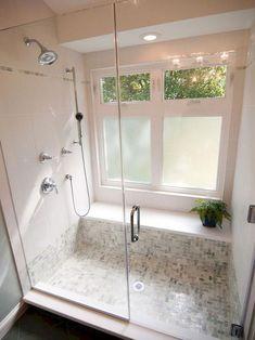 Adorable 90 Insane Rustic Farmhouse Shower Tile Remodel Ideas Source by katieasjes Master Bathroom Shower, Bathroom Renos, Bathroom Ideas, Budget Bathroom, Bathroom Cabinets, Bathroom Showers, Bathroom Remodeling, Remodeling Ideas, Simple Bathroom