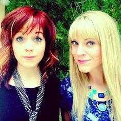 Lindsey Stirling & her sister Brooke.