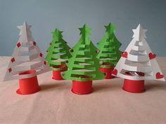 Árvore de Natal em Papel Para Decoração de Natal! - YouTube