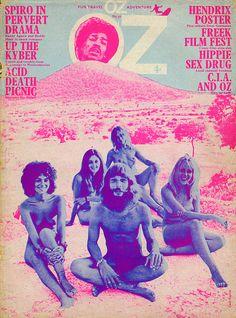 Oz Magazine #Hendrix