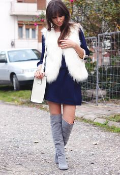 I Am A Love Addict: Wear Your Summer Dresses In Winter  #Dress