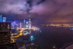 View from Renaissance Hong Kong Harbour View Hotel | Hong Kong Insider Diary via Gary Pepper