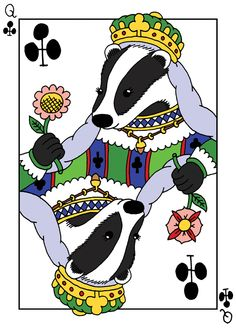 British Animal Playing Cards - Hugo Yoshikawa - Illustration