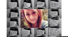 """Amanda Todd her story broke my heart and will stick with me forever. Search it on youtube """"Amanda Todd"""". There's a video there she posted about one month before her suicide. It tells the story of her messed up life, and how lost she is.  I will hold this story for the rest of my life."""