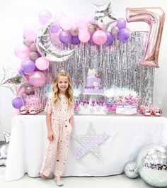 Throw an epic disco art kids birthday party! Find decor, favors, food, party supplies, and more! 7th Birthday Party Ideas, Dance Party Birthday, Girl Birthday Themes, Birthday Backdrop, Art Birthday, Unicorn Birthday Parties, Turtle Birthday, Turtle Party, Disco Party Decorations