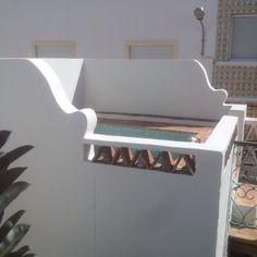 Portugal, Olhao, casa, maison, bassin, terrasse
