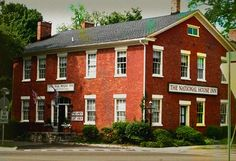 Built in 1835, the haunted National House Inn has served as a stop on the Underground Railroad and is said to be haunted by a Lady in Red. Dare to stay?