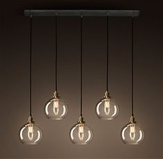 Island lighting - possibly All Ceiling Lighting | RH