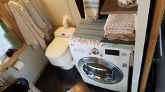 Tiny House Water Usage - Washer Dryer Combo