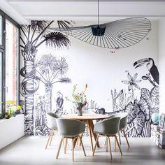 La petite fabrique de rêves: Papier peint : The Wild by Céline Figuette