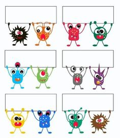 Illustration of colorful monsters holding a banner vector art, clipart and stock vectors. Monster Theme Classroom, Classroom Birthday, Classroom Themes, Monster Birthday Parties, Monster Party, Monster Clipart, Music Education Activities, Doodle Monster, Monster Pictures