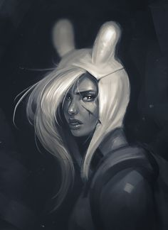Its just a flesh wound... Fionna by RyomaNinja.deviantart.com on @deviantART