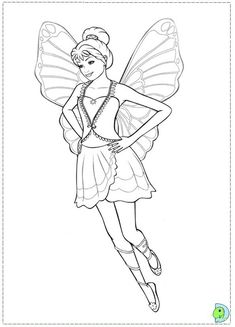 Barbie Coloring Adult Fairies Colouring In Pixies Elves Pages Angel Faeries Fairy Art