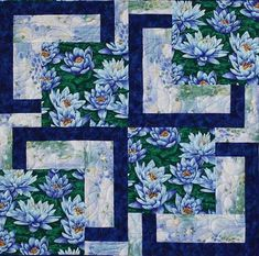 water-lily-bq-close-up.Posts about Quilts written by Sonya Mini Quilts, Big Block Quilts, Lap Quilts, Panel Quilts, Scrappy Quilts, Quilt Blocks, Log Cabin Quilts, Quilt Kits, Colchas Quilting