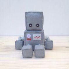 Felt robot softie