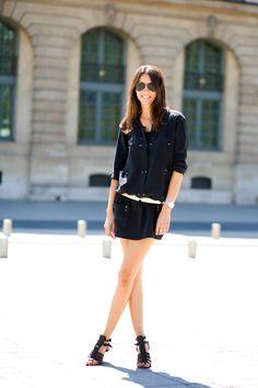 Geraldine Saglio,VogueParis's Fashion Editor, an ambassador of relaxed, cool, wearable chic.