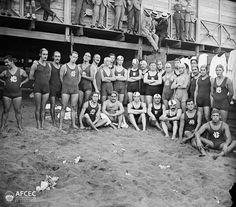 Els corredors Club Natació Barcelona, Barcelona, 1914. Autor: Carles Fargas i Bonell (AFCEC_FARGAS_X_00190)