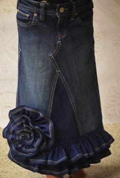 Turn Pants into a Skirt