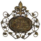 """Found it at Wayfair - """"Bless This Home"""" Metal Wall Decor"""