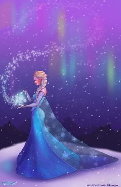 The cold never bothered me anyway by oliviabronsonart