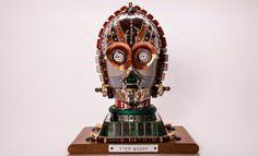 Smarty: Esculturas tecnológicas de Star Wars realizadas por Gabriel Dishaw
