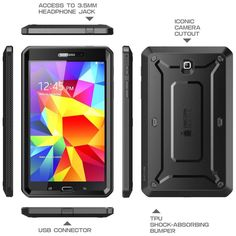 14 Ideas De Supcase Pro Tablets Protector Extremos Tablets Accesorios Para Celular Samsung