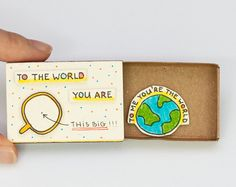 Witty Valentines Card - Will you be my girlfriend?  **VALENTINES DAY ORDER CUT-OFF DAY ANNOUNCEMENT** To ensure your items are delivered before Valentines Day, the cut-off day for Standard shipping orders is Jan 22. For Standard shipping orders placed after Jan 22, items will arrive after Feb 14. This listing is for one matchbox. This is a great alternative to a traditional greeting card. Surprise your loved ones with a cute private message hidden in these beautifully decorated matchboxes…