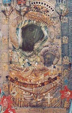 Икона Божией Матери Иверская Early Christian, Christian Art, Madonna, Bronze Skin, Byzantine, Catholic, Old Things, Icons, Painting