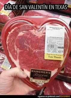 Día de San Valentín en Texas.