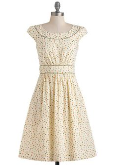 Day after Day Dress in Leaves, #ModCloth
