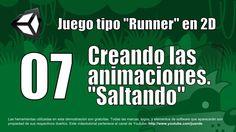 07 - Creando las animaciones - Saltando - Tutorial Unity 2D en español