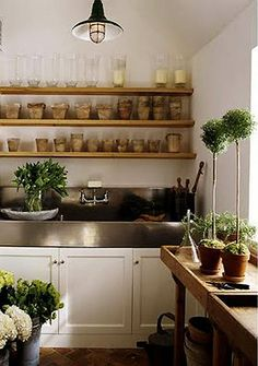 chic potting shed