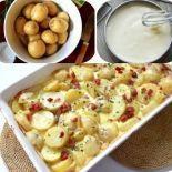 Cartofi carbonara | Retete culinare - Romanesti si din Bucataria internationala