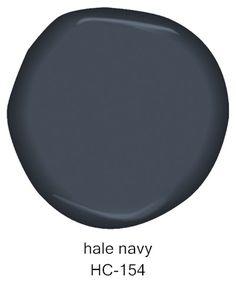 #BenjaminMoore Hale Navy HC-154
