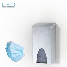 Maskenspender C-Mask, Maskenbox, Mask Dispenser aus Edelstahl Box, Masks, Stainless Steel, Snare Drum