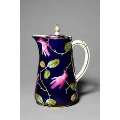 Tea service Designed by Salvador Dali for English Eccentric Edward James , who also supported Dali in the 30s !