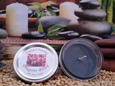 Dragons Blood Scented Soy Candle by TaniasTorches on Etsy