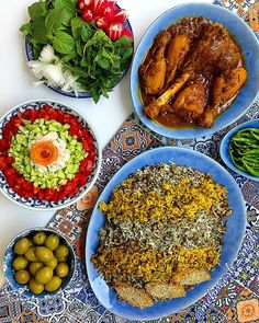 Persian rice with  fresh dills and black eye peas.