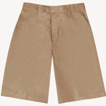 Khaki Contemporary Knee Length School Uniform Shorts Boys 8-16