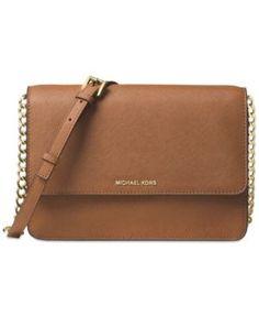 6ecf3538e114 Michael Kors Daniela Saffiano Leather Crossbody & Reviews - Handbags &  Accessories - Macy's