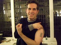 We're all about literary tattoos here at Flavorwire, and we've even rounded up famous authors with ink, but what about the combination? After all, surely some of our favorite celebritie…