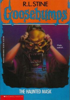 For those of you who do not know what I'm talking about, The Haunted mask is a Goosebumps book. The ymade it into a show and it was the best episode e 90s Childhood, My Childhood Memories, Sweet Memories, Sr1, Horror Books, Horror Movies, Horror Fiction, Pulp Fiction, 90s Nostalgia